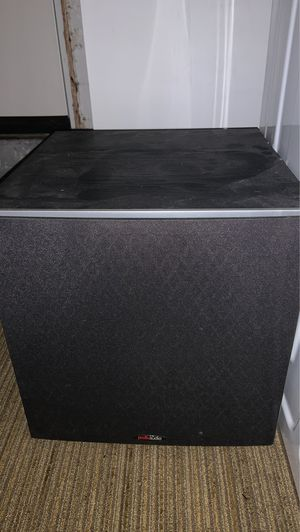 "Polk Audio 12"" subwoofer for Sale in Seattle, WA"