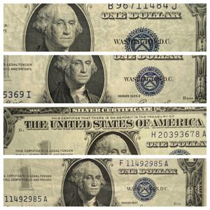 Four Different Bills XF 1935 E, 1935 G, 1957, XF 1957 A- See Pictures! for Sale in Geneva, IL