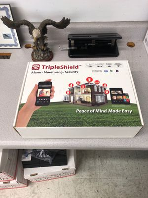Triple Shield Wireless Home Security System for Sale in Tampa, FL