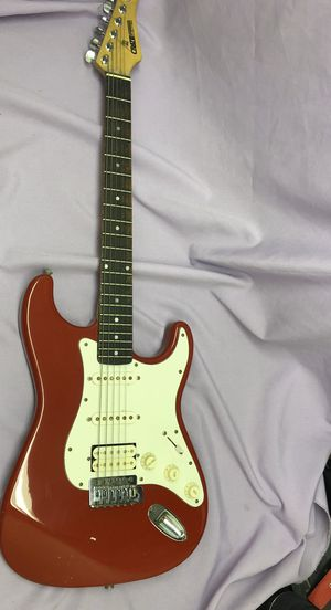 Crate Electra Red Electric Guitar! Plays great! Easy to pick up! for Sale in Los Angeles, CA