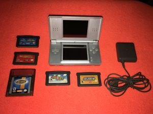 Nintendo DS Lite Bundle W/ Mario for Sale in Baltimore, MD