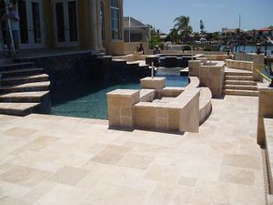 """1.2"""" Thickness Shell Stone Pavers French Pattern for Sale in Miami, FL"""