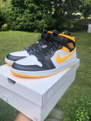 Brand New Nike Air Jordan 1 Laser Orange 🟡⚪️⚫️ for Sale in Berlin, CT