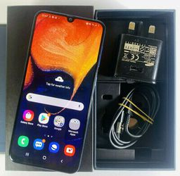 Samsung Galaxy A50, Factory Unlocked Excellent Condition Almost LiKe NeW for Sale in Springfield,  VA