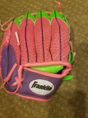 Childs baseball tball glove mit for Sale in Dearborn, MI