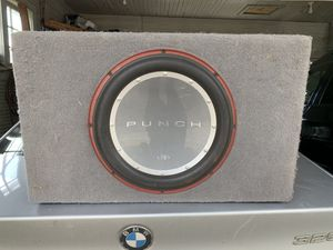 """12"""" P2 Punch subwoofer for Sale in Aberdeen, WA"""