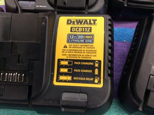 Dewalt charger 30 for Sale in Los Angeles, CA