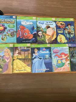 Leap Frog Tag and Many Books And Accessories Disney for Sale in Whittier,  CA