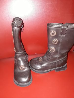 Size 7.5 little girls boots for Sale in Killeen, TX