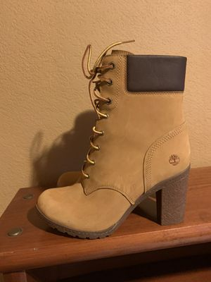 Timberland boots with heel for Sale in Hayward, CA