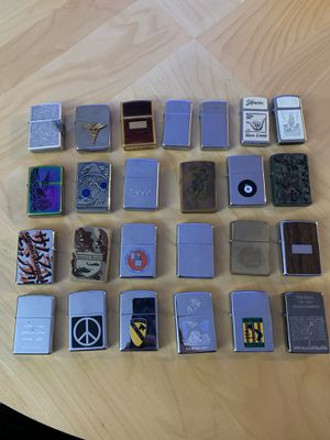 Zippo Collection for Sale in Whittier, CA