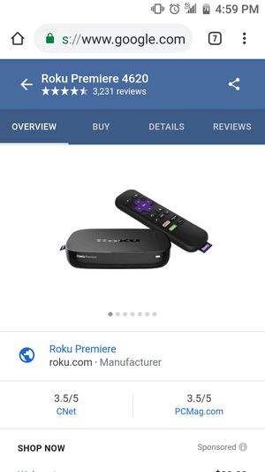 Roku premier for Sale in Salt Lake City, UT