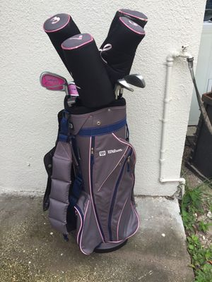 Wilson's golf set for ladies for Sale in Tampa, FL