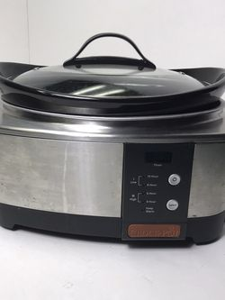 Crock-pot Sccpvl610-s 6 Quart Programmable Cook And Carry Oval Slow Cooker for Sale in Morrisville,  PA