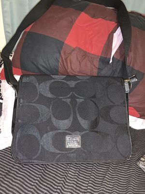 Real coach laptop bag. Perfect condition for Sale in Walpole, MA