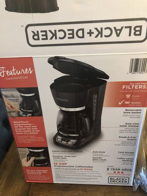 Black and decker coffee maker for Sale in FL, US