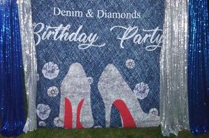 Denim and Diamonds 💎 themed party 🎉 celebration for Sale in Chicago, IL