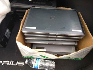 14 dell and 1 Lenovo (parts) for Sale in Seattle, WA