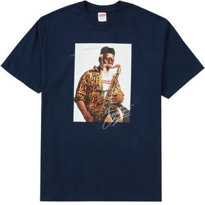 Supreme Pharoah Sanders Photo Tee Navy Size M for Sale in Silver Spring, MD