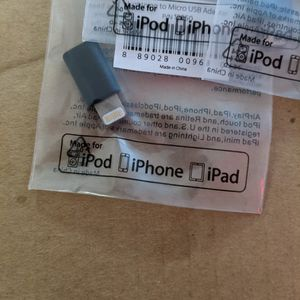 Apple Micro USB To Lightning Adapter for Sale in South San Francisco, CA