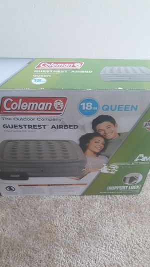 Coleman airbed for Sale in Washington, DC