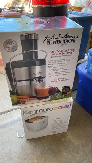 Power Juicer and Bread Maker for Sale in Laguna Hills, CA