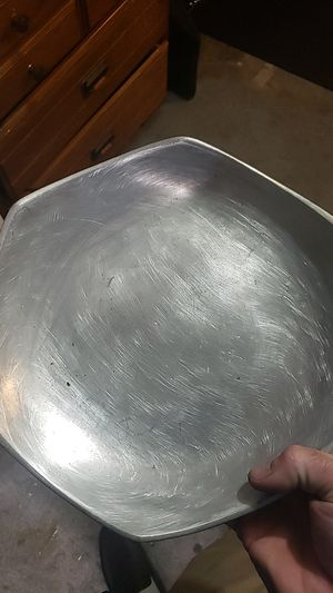 "12"" nambe designer pewter dish centerpiece for Sale in Missouri City, TX"