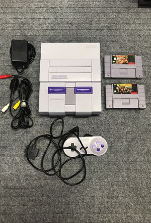 Super Nintendo SNES with Games for Sale in Vacaville, CA
