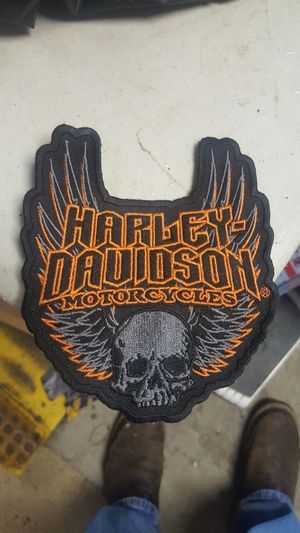 Harley Davidson patch $8 for Sale in Puyallup, WA