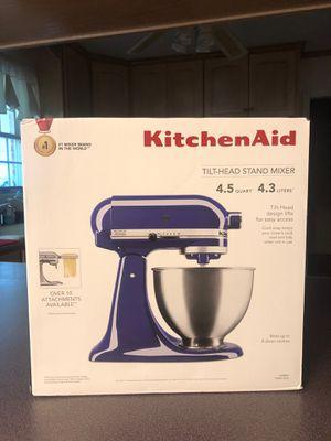 KitchenAid 4.5 Quart Classic Series Tilt-Head Mixer, Cobalt Blue, Brand New, Unopened in Box for Sale in Greenville, SC