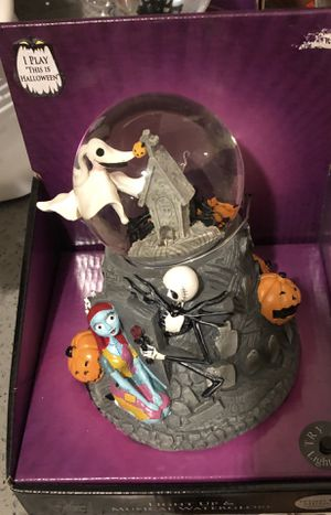 The Nightmare Before Christmas Snow Globe for Sale in San Diego, CA