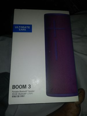 UE BOOM 3 BLUETOOTH SPEAKER for Sale in The Bronx, NY