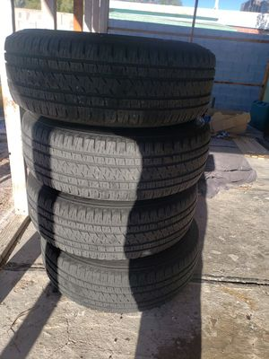 Gmc rims and tires for Sale in Las Vegas, NV