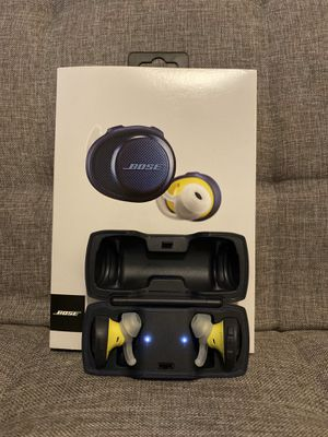 Bose Soundsport Free Wireless NAVY/CITRON for Sale in Seattle, WA