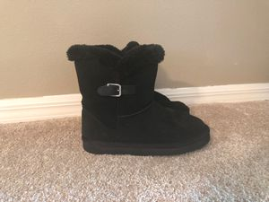 Ladies' black suede boots for Sale in Tampa, FL