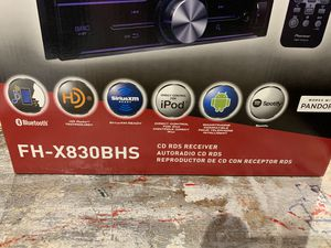 Pioneer FH-X830BHS CD Bluetooth receiver for Sale in Logan Township, NJ