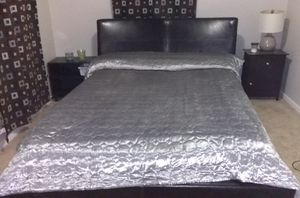 sleep number Queen bed mattress and frame for Sale in North River, ND