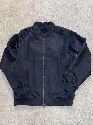 Nike sportswear men's large black bomber jacket for Sale in Portland, OR