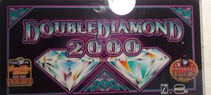 Diamond 2000 collection slot machine glass for Sale in Bullhead City, AZ