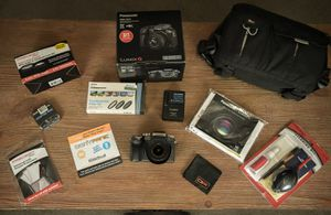 Panasonic Lumix G7 4K Video Camera Bundle for Sale in Conroe, TX