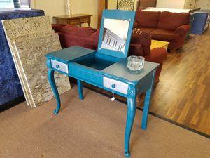 Desk vanity wood for Sale in Tulsa, OK