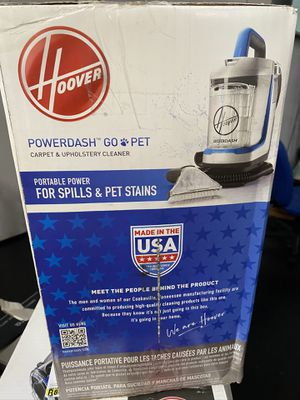 Powerdash go Pet vaccum/ shampooer stain remover for Sale in Fontana, CA