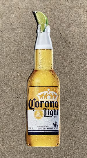 New Corona Light Metal Beer Bar tin Sign for Sale in Chino Hills, CA