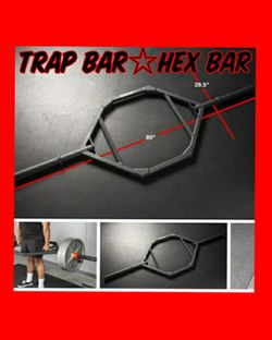 🔺️☆🔷️TRAP BAR☆RACKABLE HEX BAR☆OLYMPIC BARS☆GYM EQUIPMENT☆FITNESS EQUIPMENT🔷️☆🔺️ for Sale in Placentia,  CA
