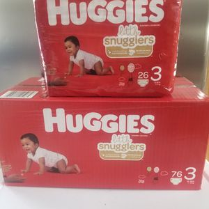 Huggies Size 3 $29 for Sale in Ontario, CA