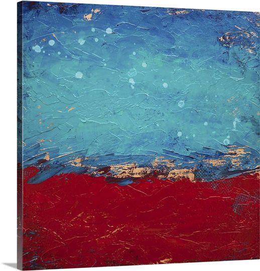 Hillary Winfield Canvas Stars Aligned 26x26