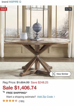 Farmhouse Dining Table Only for Sale in Winter Springs, FL