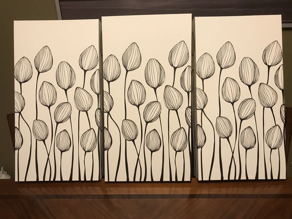 Beautiful arts. Set of 3. $25