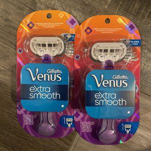 Gillette Venus extra smooth razor $5 each for Sale in San Bernardino, CA