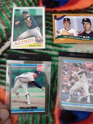Nolan Ryan cards for Sale in San Jose, CA